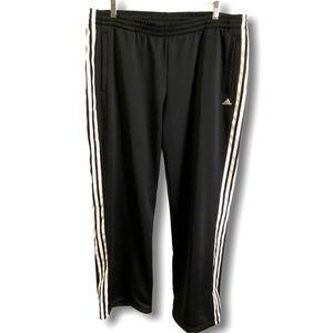 ADIDAS MEN'S SIZE XL 3 Stripe Track Pants